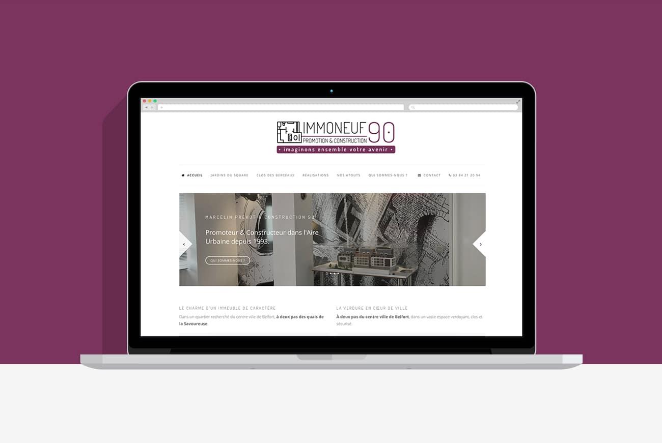 Site internet immoneuf90