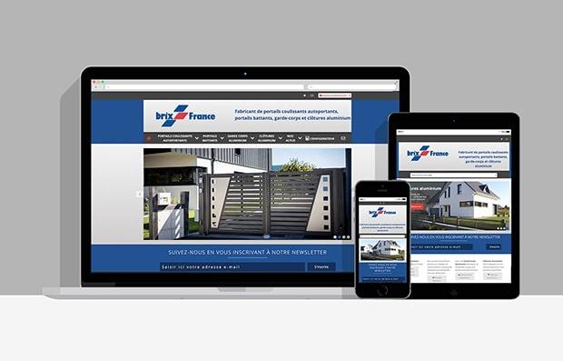 Site internet Brix France