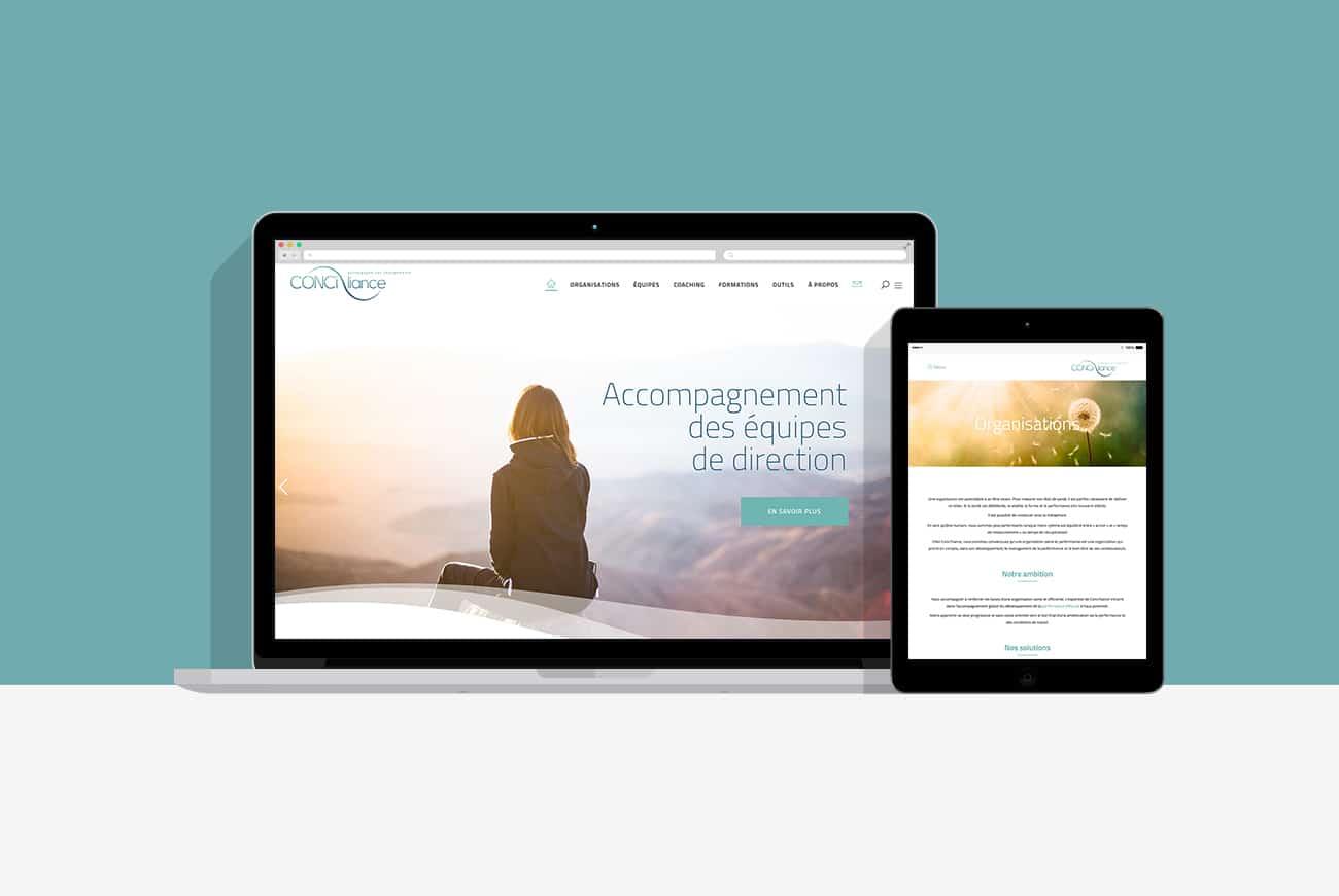 Création site internet Conci'liance