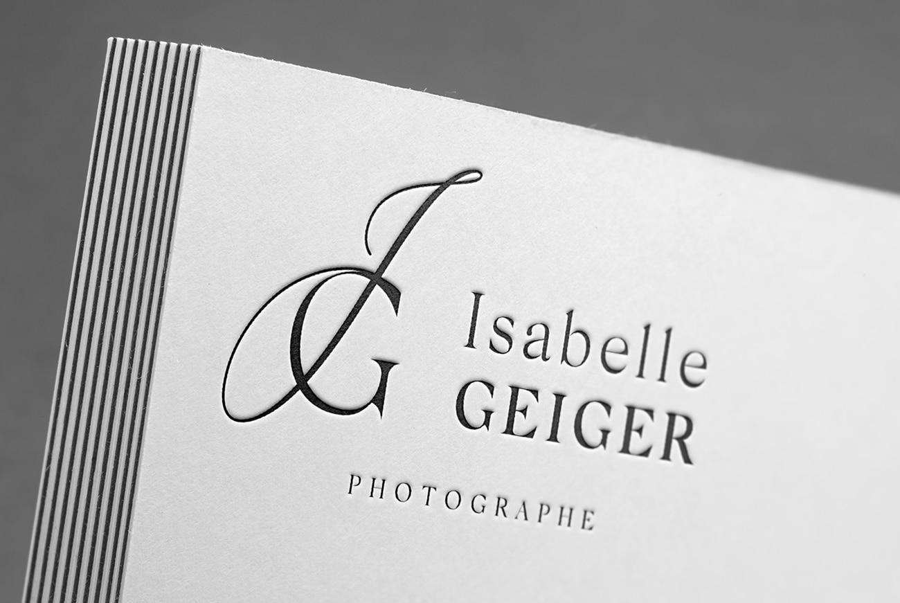Logotype Isabelle Geiger