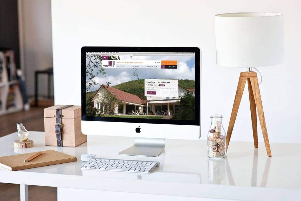 Création site internet Marcelin Prevot Immobilier