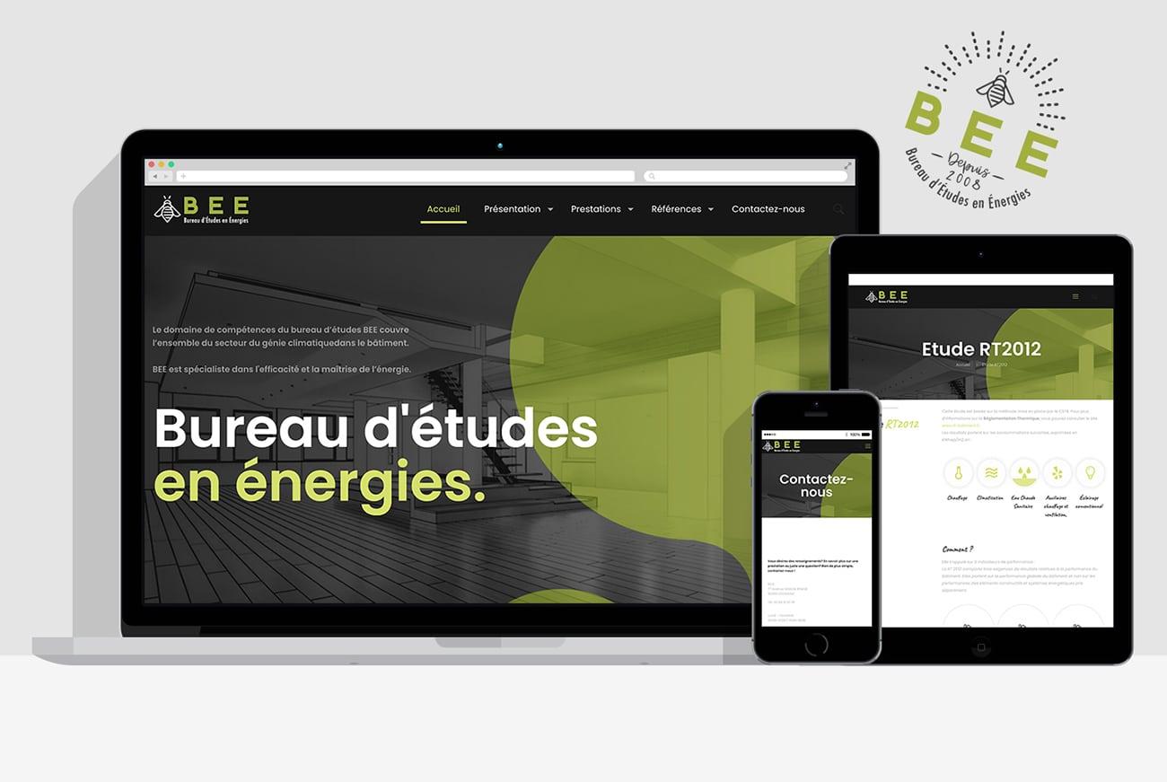 Création site internet B.E.E