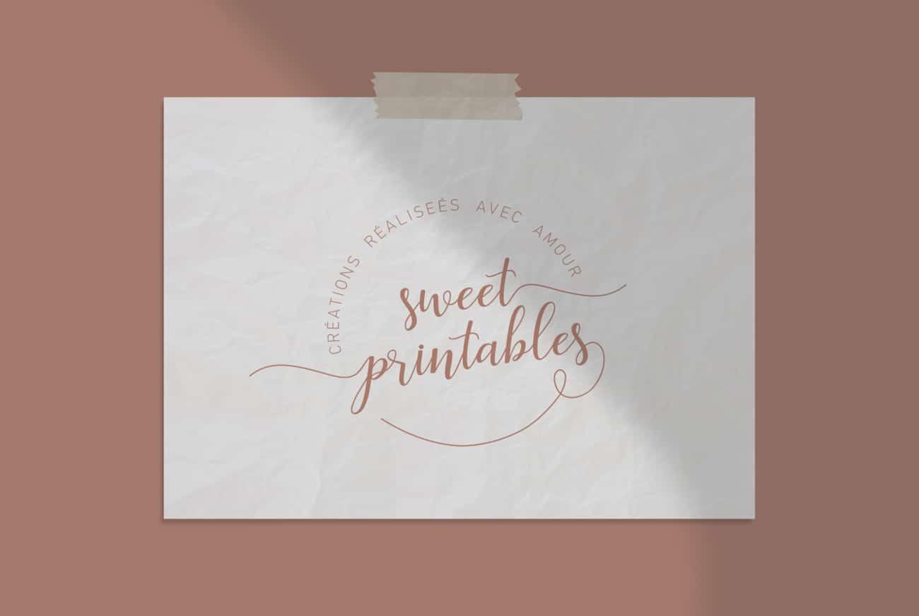 Logo Sweet Printables