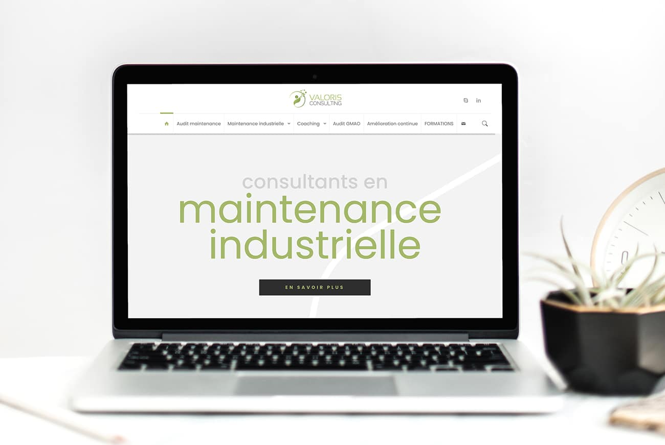 Création site internet Valoris Consulting